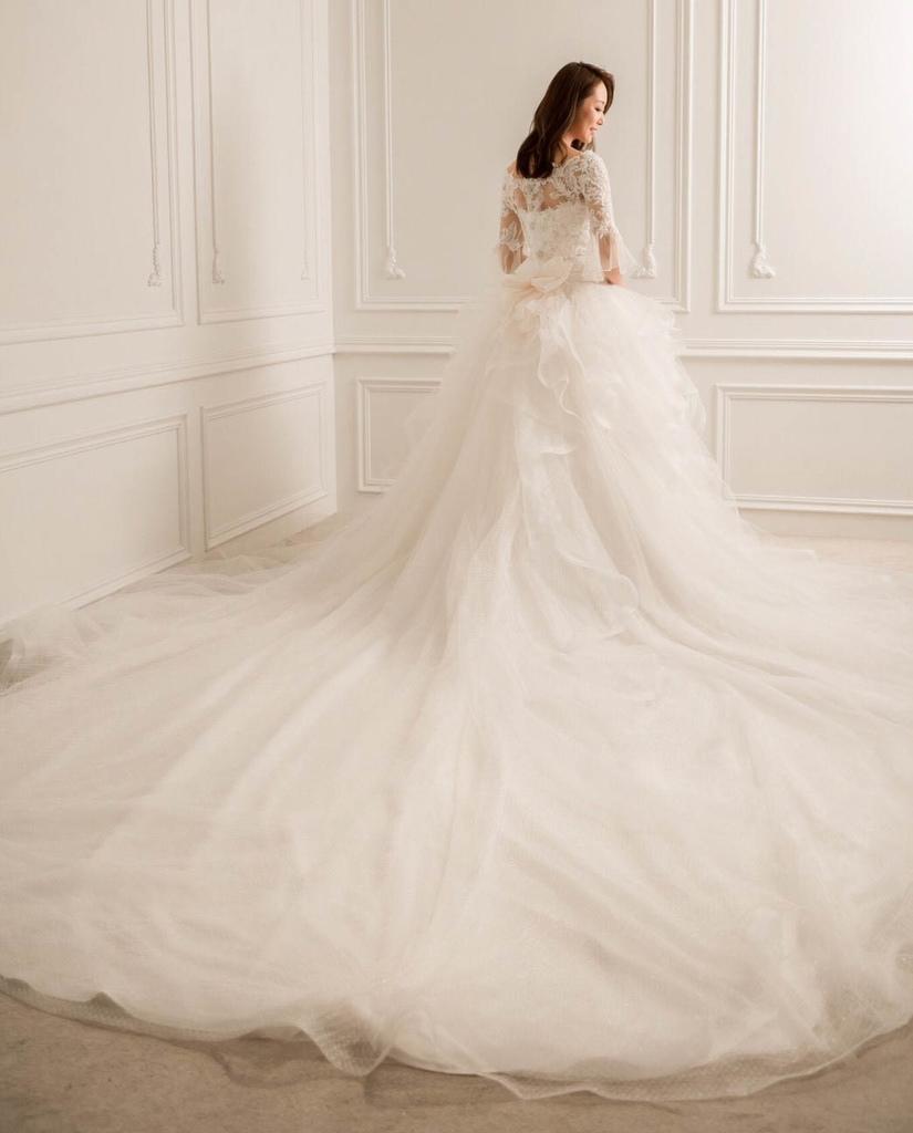 專門為亞洲人身型設計的禮服│曼哈頓婚禮新人評鑑