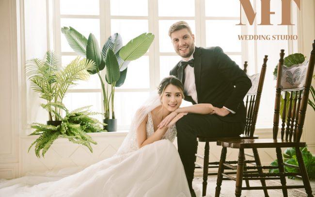 中壢曼哈頓婚紗 新人 結婚照 儒